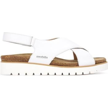 Topánky Ženy Sandále Mephisto P5131063 Biely