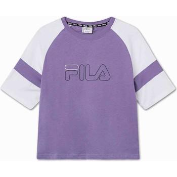 Oblečenie Deti Tričká s krátkym rukávom Fila 683330 Fialový
