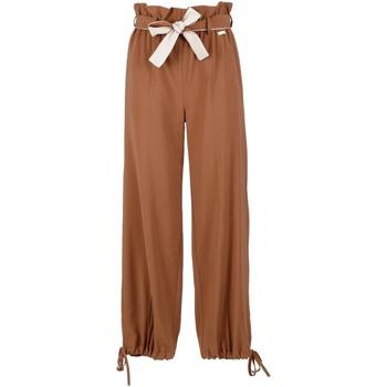 Oblečenie Ženy Padavé nohavice Café Noir JP6170 Hnedá