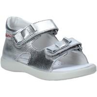 Topánky Dievčatá Sandále Falcotto 1500771 02 Striebro