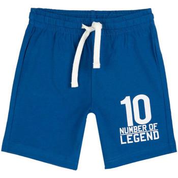 Oblečenie Deti Šortky a bermudy Chicco 09052926000000 Modrá