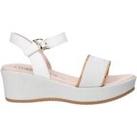 Topánky Dievčatá Sandále Alviero Martini 0647 0911 Biely