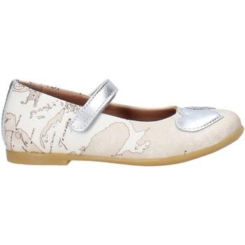 Topánky Dievčatá Balerínky a babies Alviero Martini 0596 0934 Biely