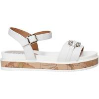 Topánky Dievčatá Sandále Alviero Martini 0575 0326 Biely