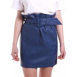 Oblečenie Ženy Sukňa Federica Tosi FTE20GO036.0VPELLE Modrá