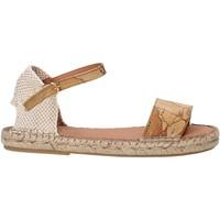Topánky Dievčatá Sandále Alviero Martini E190 9430 Hnedá