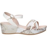 Topánky Dievčatá Sandále Alviero Martini 0641 0910 Biely