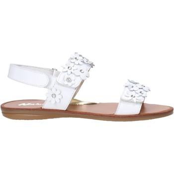 Topánky Dievčatá Sandále Naturino 502338 01 Biely