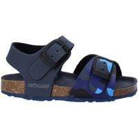 Topánky Deti Sandále Grunland SB1646 Modrá