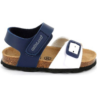 Topánky Deti Sandále Grunland SB1892 Modrá