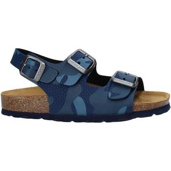 Topánky Deti Sandále Grunland SB1681 Modrá
