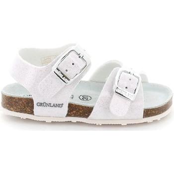Topánky Deti Sandále Grunland SB1258 Biely