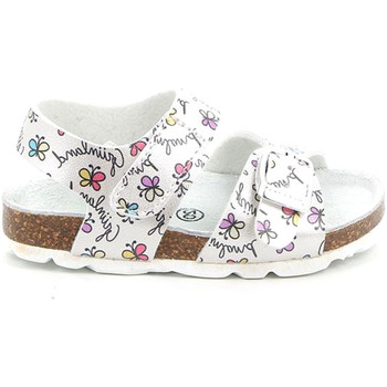 Topánky Deti Sandále Grunland SB1663 Biely