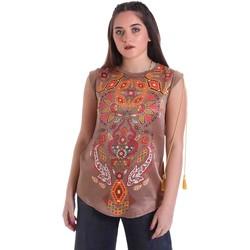 Oblečenie Ženy Blúzky Cristinaeffe 5660 Béžová