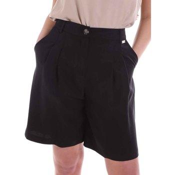 Oblečenie Ženy Šortky a bermudy Café Noir JP6030 čierna