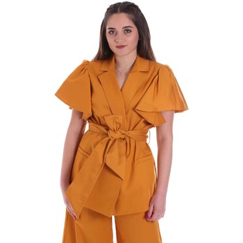Oblečenie Ženy Saká a blejzre Cristinaeffe 0308 2491 žltá