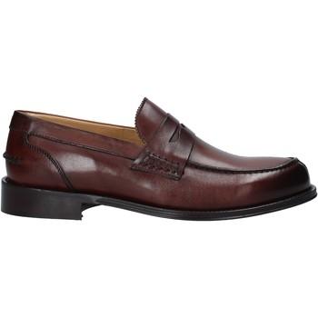 Topánky Muži Mokasíny Exton 102 Hnedá