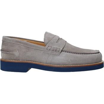 Topánky Muži Mokasíny Exton 2102 Šedá