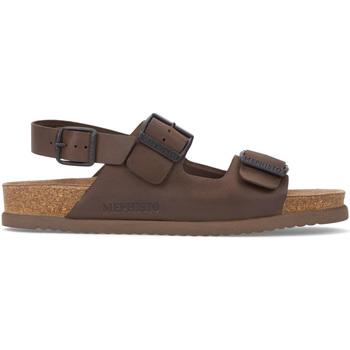 Topánky Muži Sandále Mephisto P5117407 Hnedá