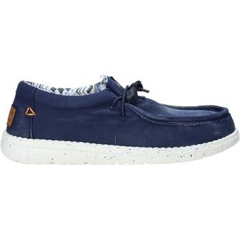 Topánky Muži Mokasíny U.s. Golf S21-S00US322 Modrá