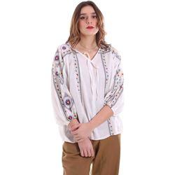 Oblečenie Ženy Blúzky Alessia Santi 011SD45039 Biely