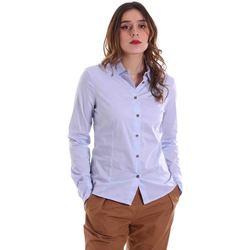 Oblečenie Ženy Košele a blúzky Alessia Santi 011SD45049 Modrá