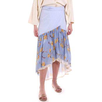 Oblečenie Ženy Sukňa Alessia Santi 011SD75003 Modrá