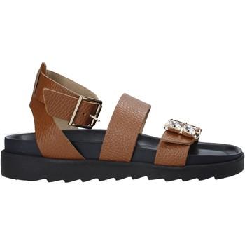 Topánky Ženy Sandále Apepazza S1SOFTWLK05/LEA Hnedá