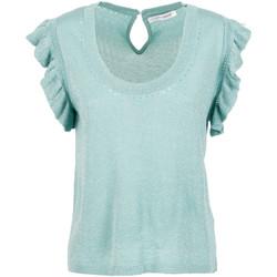 Oblečenie Ženy Blúzky Café Noir JM6190 Zelená