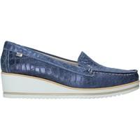 Topánky Ženy Mokasíny Valleverde 11451 Modrá