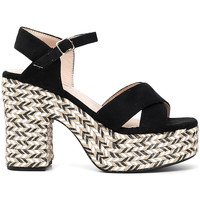 Topánky Ženy Sandále Café Noir XK9301 čierna