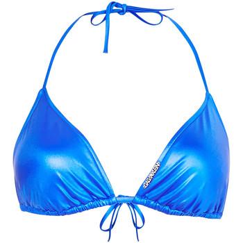 Oblečenie Ženy Plavky kombinovateľné Calvin Klein Jeans KW0KW01246 Modrá