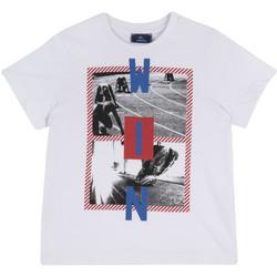 Oblečenie Deti Tričká s krátkym rukávom Chicco 09067134000000 Biely