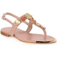 Topánky Ženy Sandále Mosaic NUDE 1420 Rosa