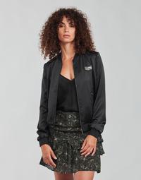 Oblečenie Ženy Bundy  Ikks FANNY Čierna / Kaki
