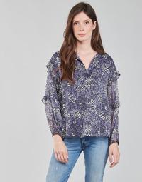 Oblečenie Ženy Blúzky Ikks BABAR Modrá