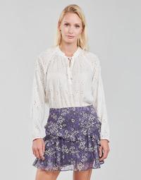 Oblečenie Ženy Blúzky Ikks FANILA Krémová