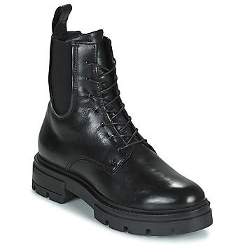 Topánky Ženy Polokozačky Mjus BEATRIX LACE Čierna
