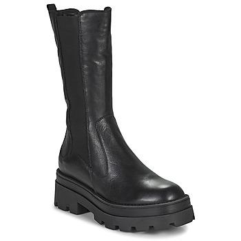 Topánky Ženy Čižmy do mesta Mjus LATERAL Čierna