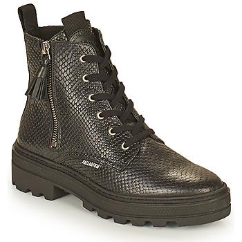 Topánky Ženy Polokozačky Palladium Manufacture CULT 04 NAP Čierna