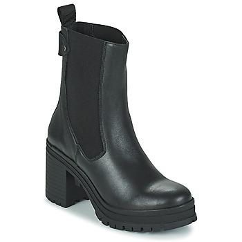 Topánky Ženy Čižmičky Palladium Manufacture MONA 02 NAP Čierna