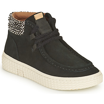 Topánky Ženy Členkové tenisky Palladium Manufacture TEMPO 10 SUD Čierna