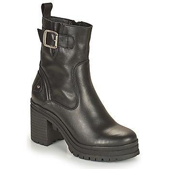 Topánky Ženy Čižmičky Palladium Manufacture MONA 01 NAP Čierna