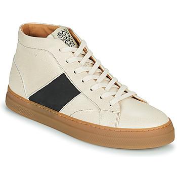 Topánky Muži Členkové tenisky Schmoove SPARK LOW BOOTS Béžová
