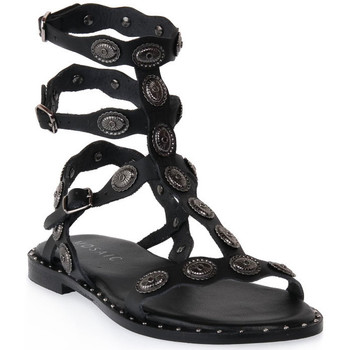 Topánky Ženy Sandále Mosaic 3030 VITELLO NERO Nero