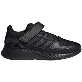 Topánky Deti Bežecká a trailová obuv adidas Originals Runfalcon 20 C Čierna