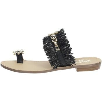Topánky Ženy Žabky Gold & Gold GL613 Black
