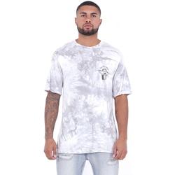 Oblečenie Muži Tričká s krátkym rukávom Sixth June T-shirt  Custom Tie Dye blanc/rose