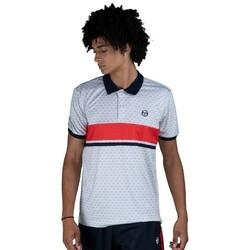 Oblečenie Muži Polokošele s krátkym rukávom Sergio Tacchini Polo  Ansley white/red
