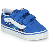 Topánky Chlapci Nízke tenisky Vans OLD SKOOL Modrá